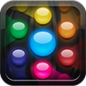 Orba Icon: seven glowing, colorful orbs in a honeycomb pattern